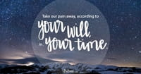 A Prayer for Those Waiting on Healing - Your Daily Prayer - March 21, 2017