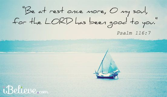 Be At Rest, O My Soul