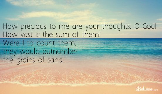 How Vast Are Your Thoughts, O God!