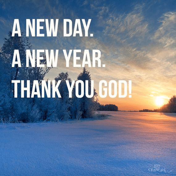 A New Day, A New Year. - Your Daily Verse