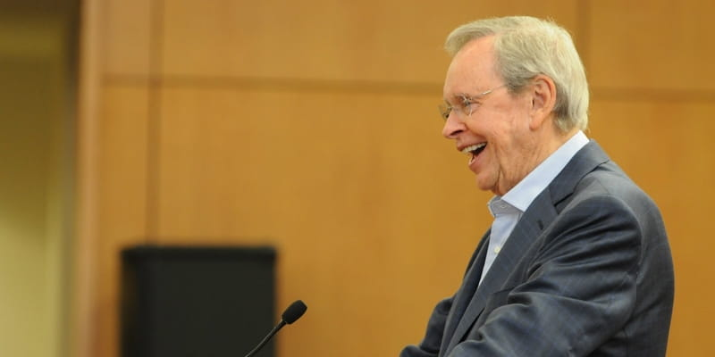 Update: Charles Stanley Declines Award after Jews Question His Views on Gays