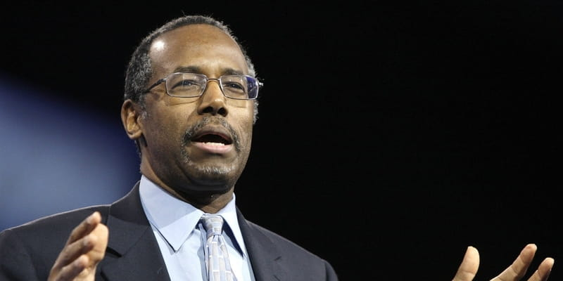 Ben Carson Proposes Tax Plan Based on Biblical Tithing