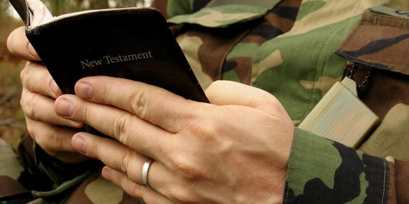 Marine Court-Martialed for Refusing to Remove Bible Verse from Work Computer