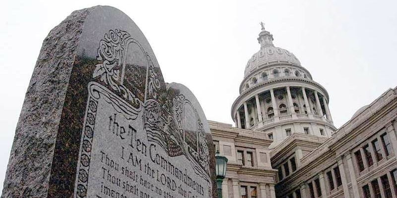 Oklahoma Governor Refuses to Remove Ten Commandments Monument after Ruling