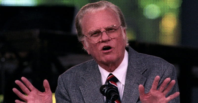North Korean Newspaper Claims Billy Graham Referred to Kim Il Sung as 'God'