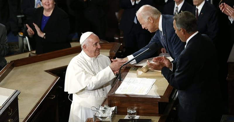 Pope Francis to Congress: 'Stop Fighting, Start Working!'