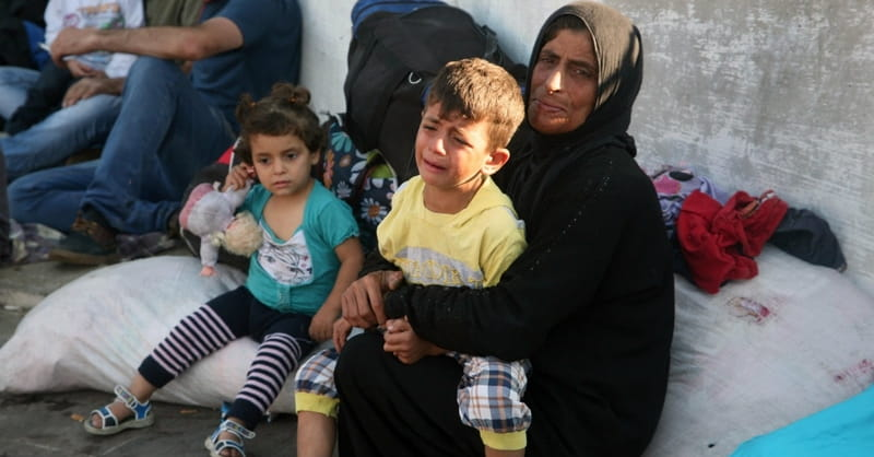 Syria: 100,000 People Displaced in 8 Days