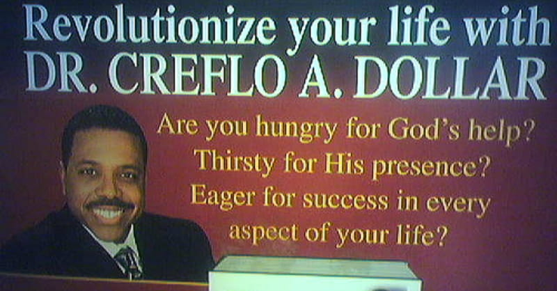 Creflo Dollar Removes Facebook Post Endorsing Prosperity Gospel