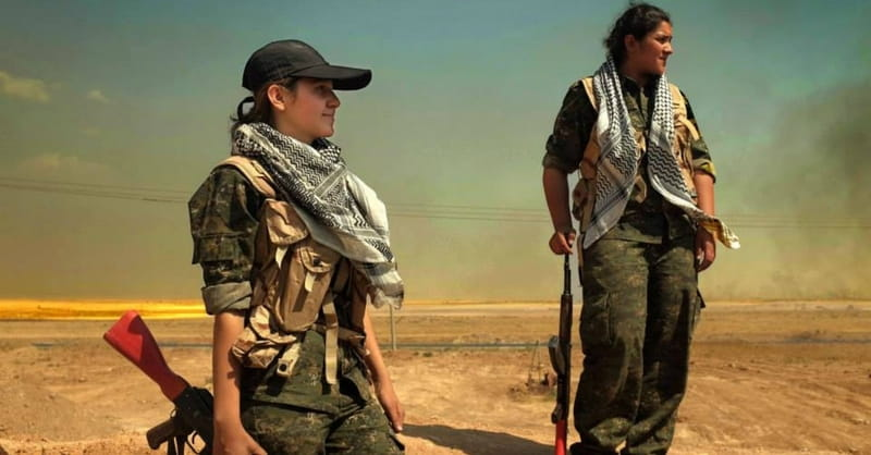 Women Fighters Take Forefront of Middle East Conflict