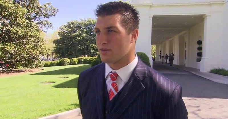 Tim Tebow: The Idea of Running for Office is 'Intriguing'