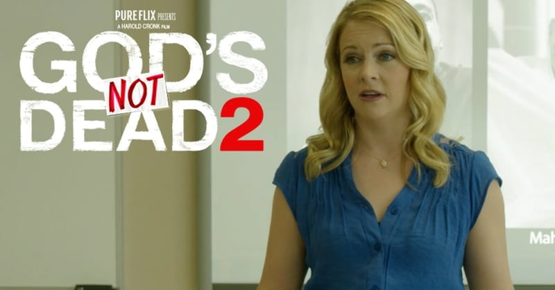 'God's Not Dead 2' Actress: The Name of Jesus Should Not Make People Uncomfortable