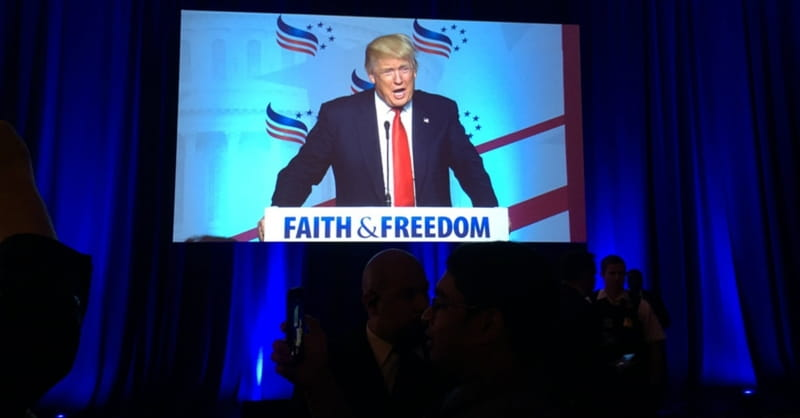 Trump May be Speeding Up Evangelical Break with GOP