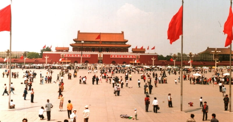 Calls for Democracy Ring at Tiananmen Events