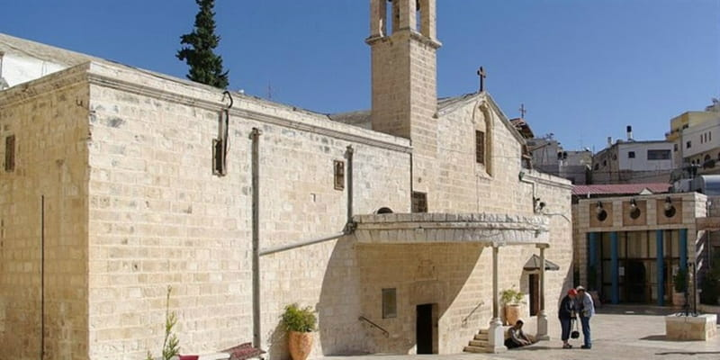 Prominent Syriac Church Damaged by Missile Fire