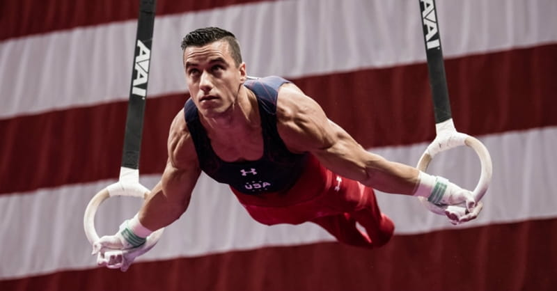 Gymnast Jake Dalton Focuses on Faith over Fear