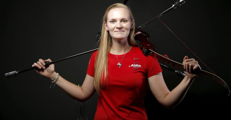 Evangelical Archer Mackenzie Brown Takes Aim at First Olympics