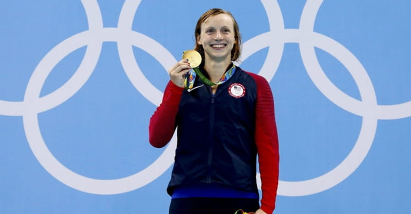 Catholic Faith Anchors Olympic Swimmer Katie Ledecky