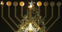 Hanukkah Overlaps with Christmas This Year. But Why Not Every Year?