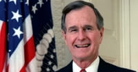 Former President George H.W. Bush Health Scare: Hospitalized for Shortness of Breath
