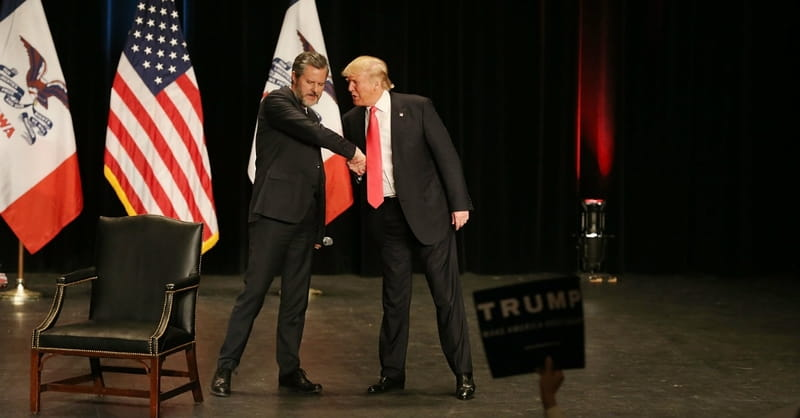 Jerry Falwell Jr.: Trump is Evangelicals' 'Dream President'