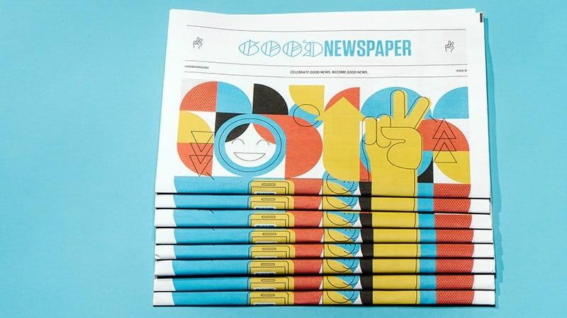 Good News! Faith Motivates Kickstarter for Newspaper to Print Hopeful Headlines