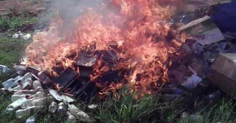 Ugandan Pastor Torches Bibles as the Work of 'Devil Worshippers'