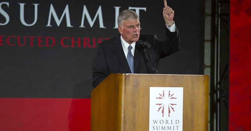Franklin Graham Calls Persecution of Christians 'Genocide'