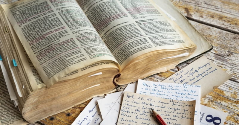 Biologists Analyze 900-Year-Old Gospel of Luke