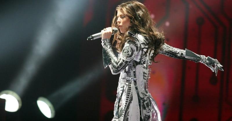 Black Eyed Peas Singer Fergie Seen Attending Church