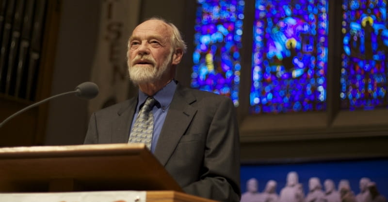 Best-selling Author Eugene Peterson Changes His Mind on Gay Marriage