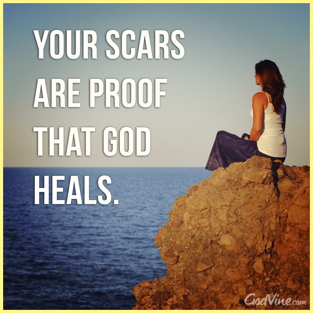Your Scars are Proof that God Heals