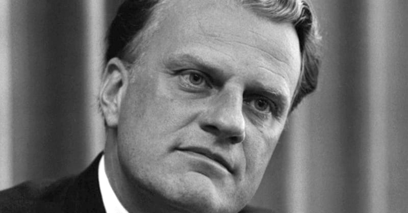 Billy Graham Explains Where God is when Terrorism Occurs