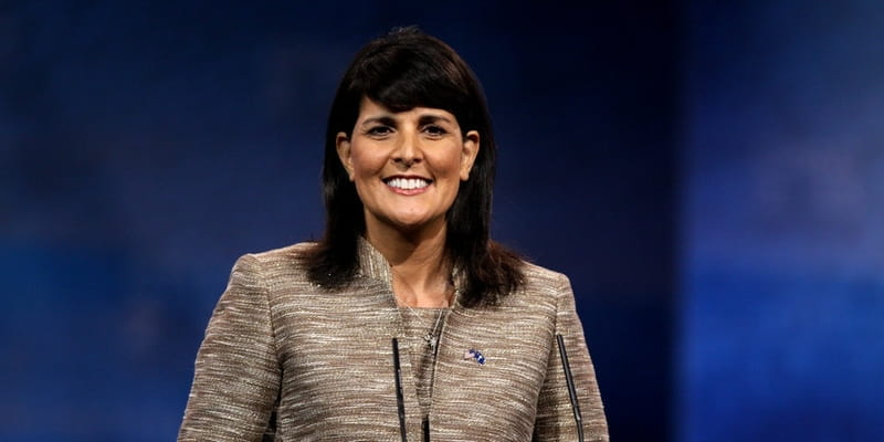 Donald Trump Names Gov. Nikki Haley as US Ambassador to the UN