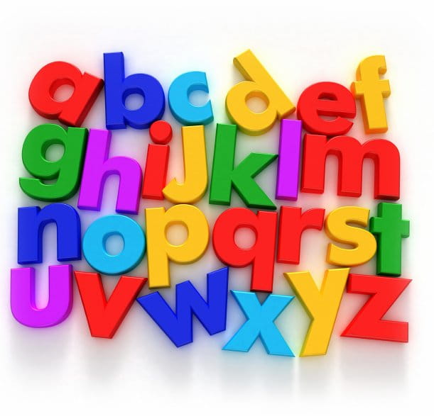 Putting the letters together dr ray pritchard christian blog - Putting together stylish kitchen abcs ...