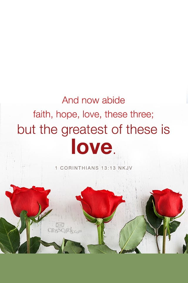 Faith Hope Love Desktop calendar- Free February Wallpaper