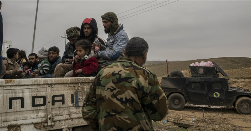 Mosul: 400,000 People Still Trapped in City by ISIS