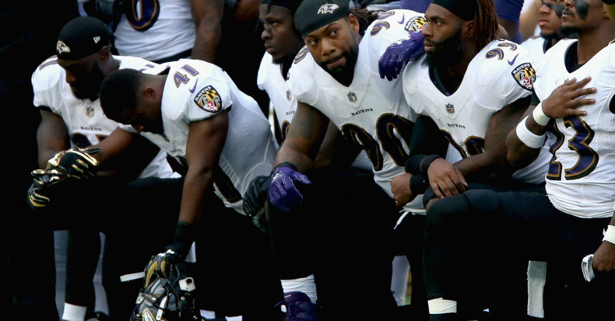 President Trump Weighs in on NFL Anthem Kneeling Controversy