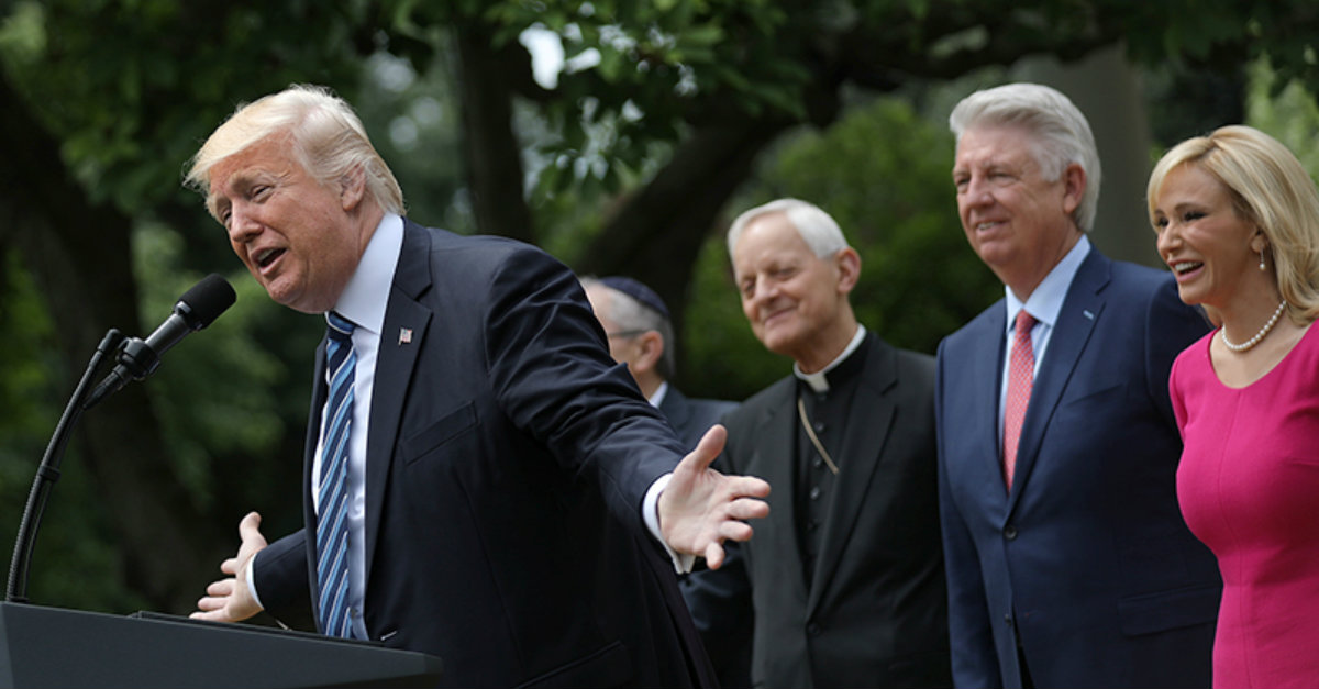 Conservative Evangelicals Revel in Their 'Unprecedented' Access to the President