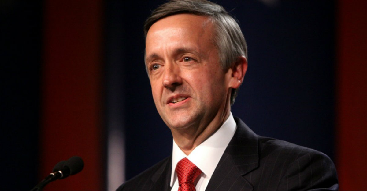 Pastor Robert Jeffress Says the Debate about Gay Marriage is Over