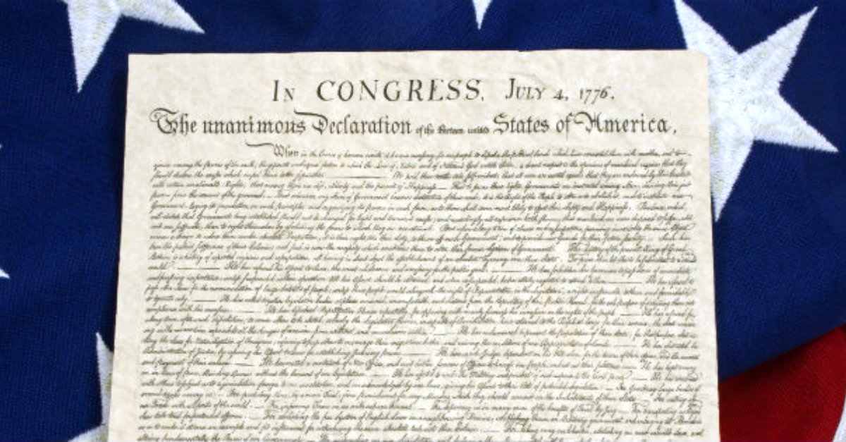 "Is the Declaration of Independence ""Christian""?"