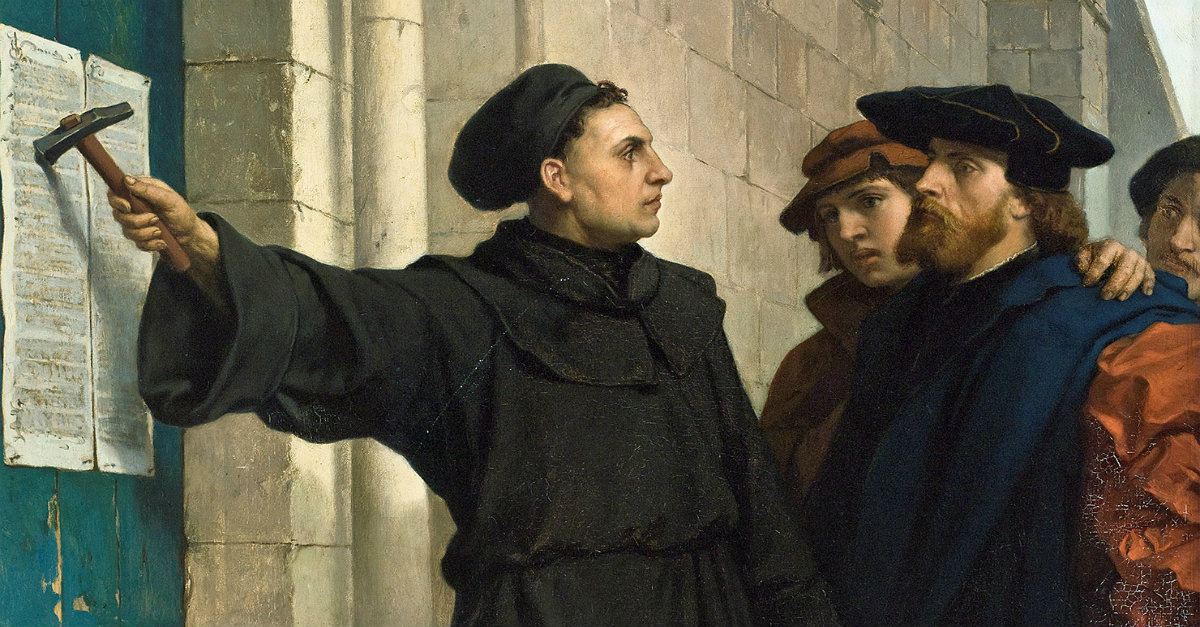 Is There a Connection between Halloween & Reformation Day?