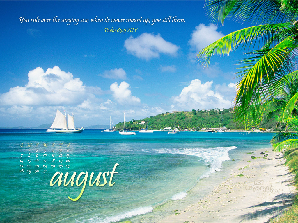 Monthly Calendar Background : August he rules desktop calendar free monthly