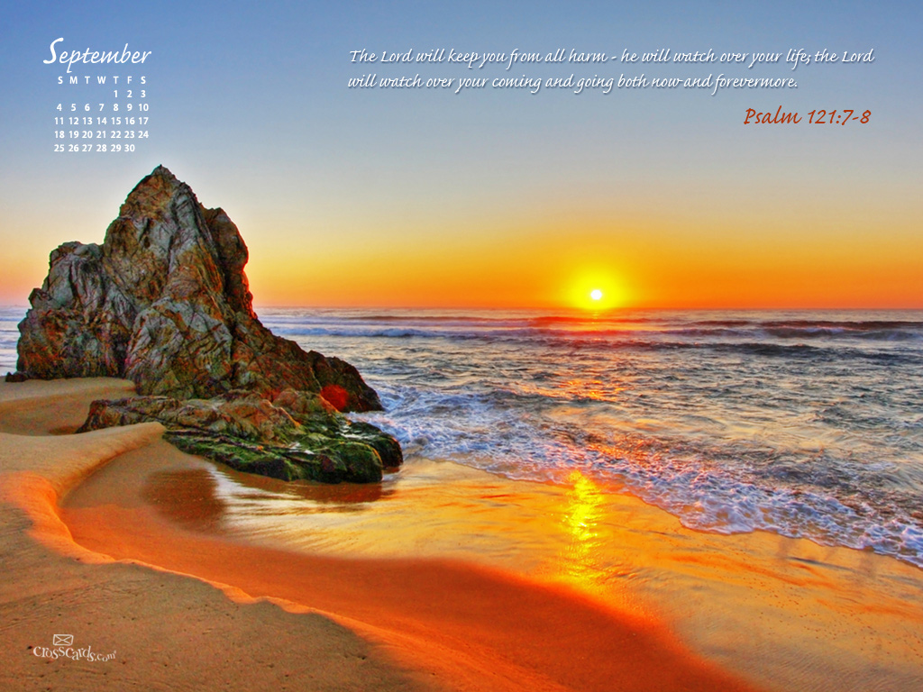 September 2011 - Psalm 121:7-8 - Wallpaper