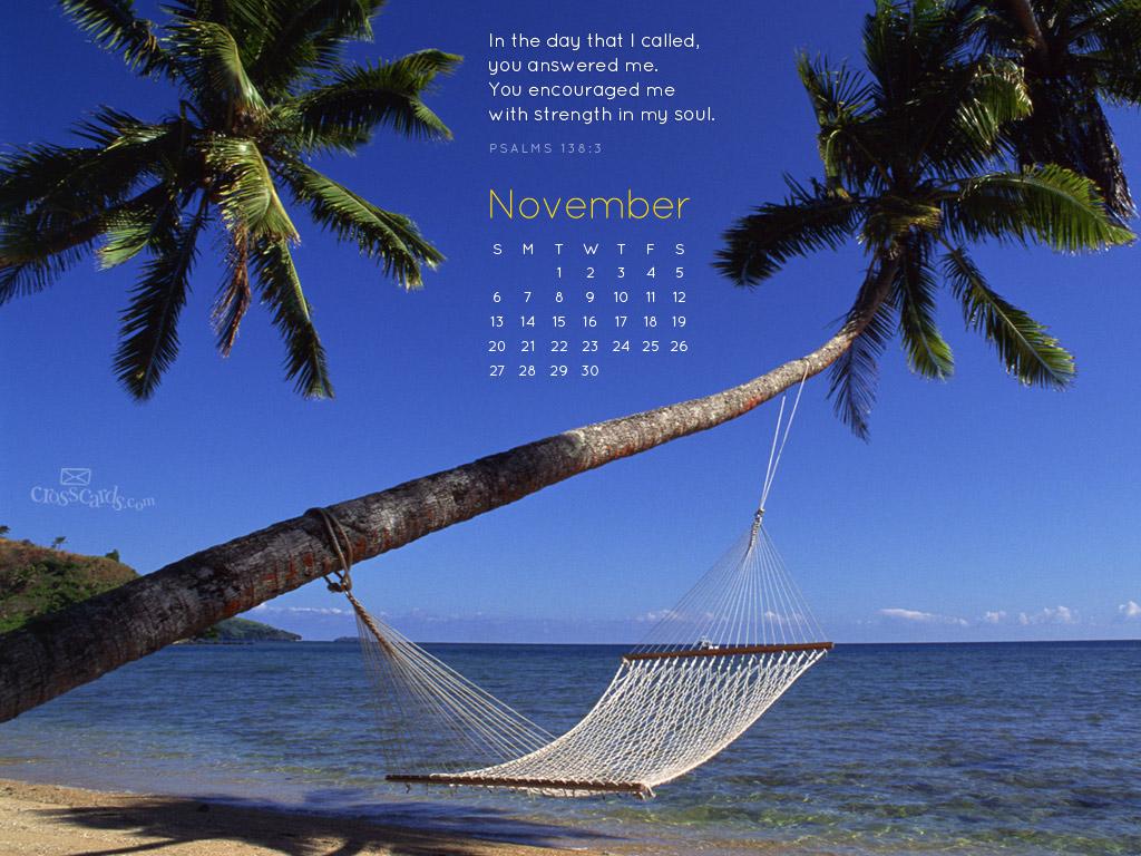 November 2011 - Psalm 138:3