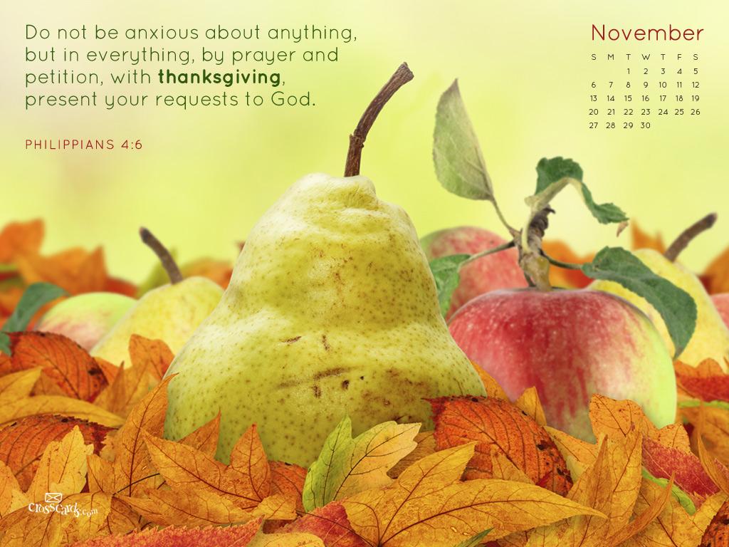 November 2011 - Phil. 4:6
