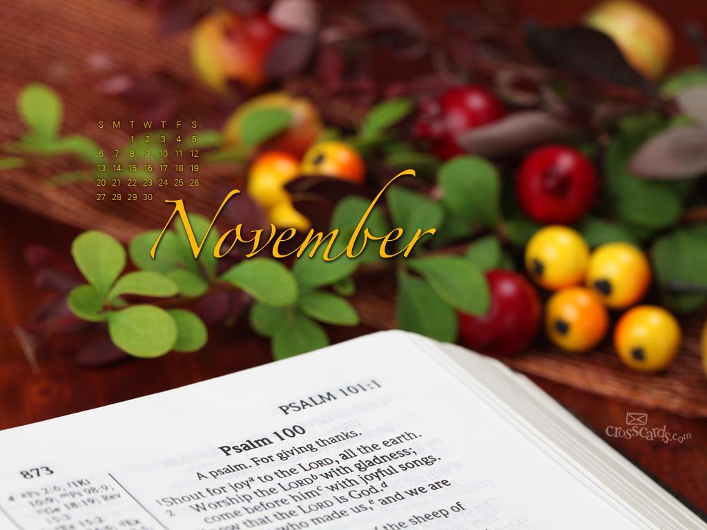 November 2011 - Psalm