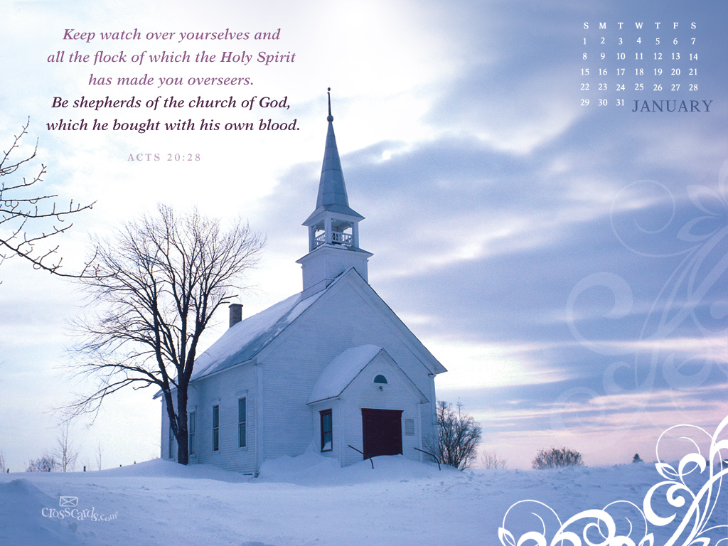 Jan 2012 - Church of God - Wallpaper