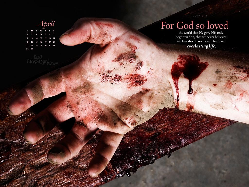 April 2012 - John 3:16