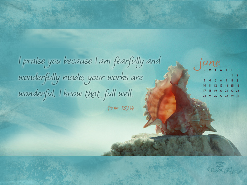 June 2012 - Psalm 139:14