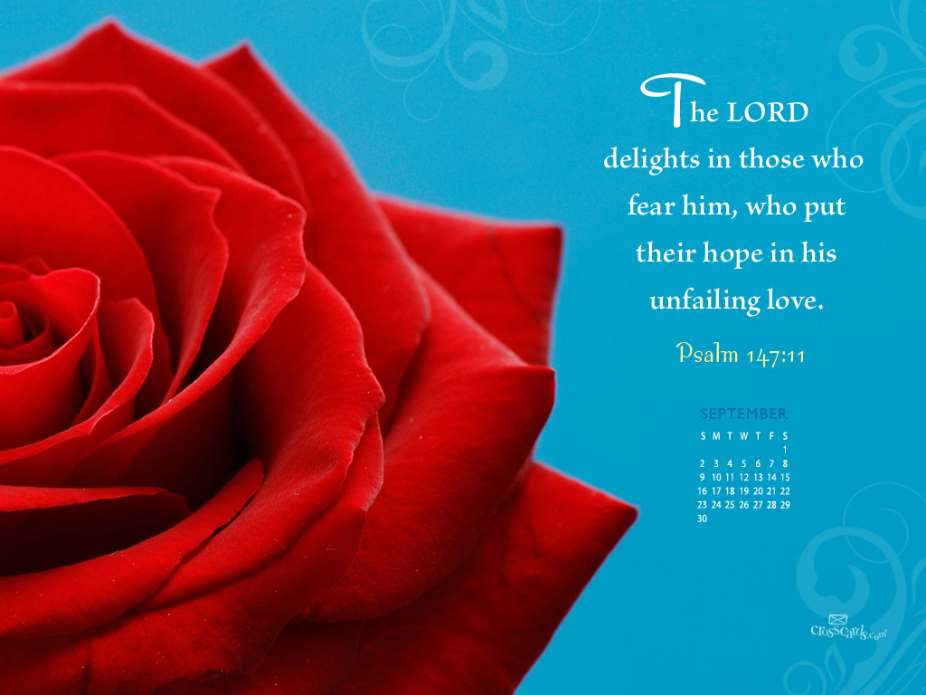Sept. 2012 - Unfailing Love